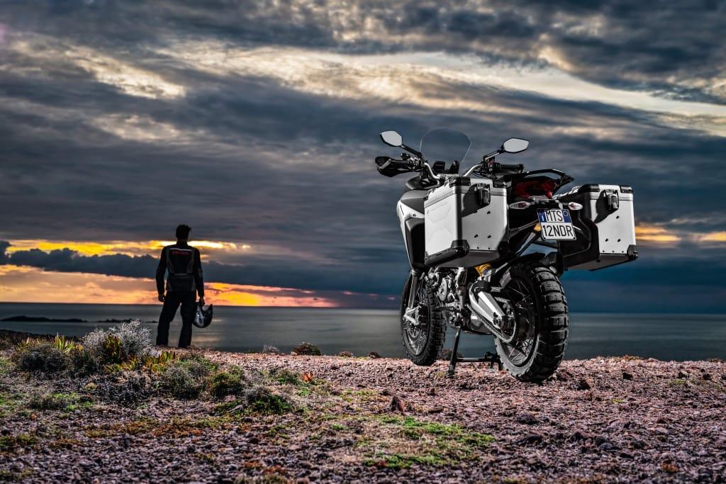 De Multistrada Enduro kan je, net als alle andere Euro4 Ducati's, nog steeds met beperkt vermogen krijgen.