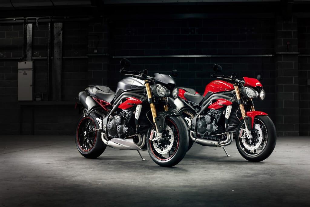 Geen 100 pk-versies meer bij Triumph, maar ook geen extreme topvermogens of daaraan verbonden BIV.