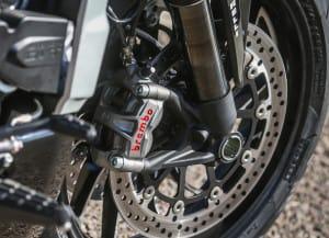 Xdiavel detail brake