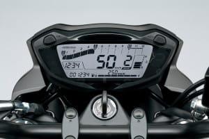 SV 650 dash