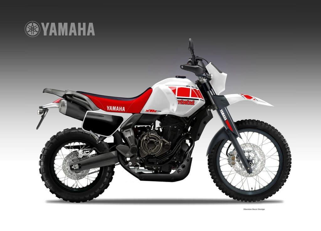YAMAHA XTR 700 TENERE'