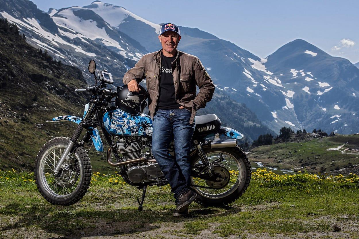 Die andere Dakarlegende, Stéphane Peterhansel zal ook meerijden.