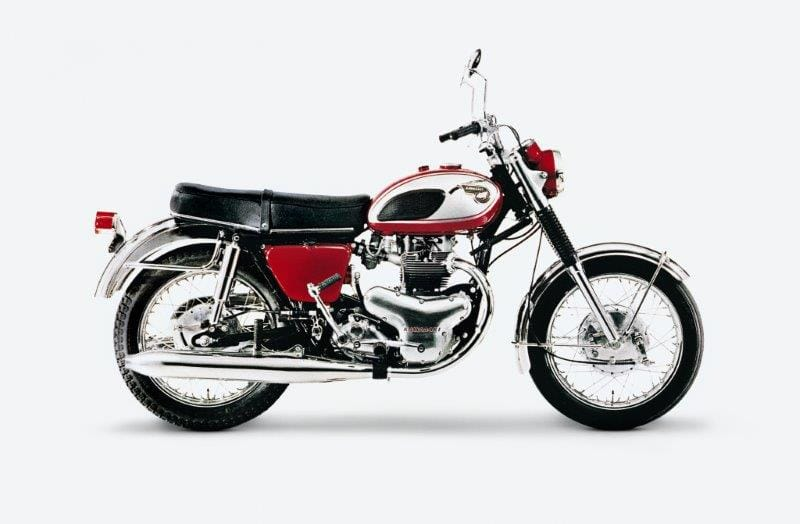 Kawasaki's W1 uit 1966.