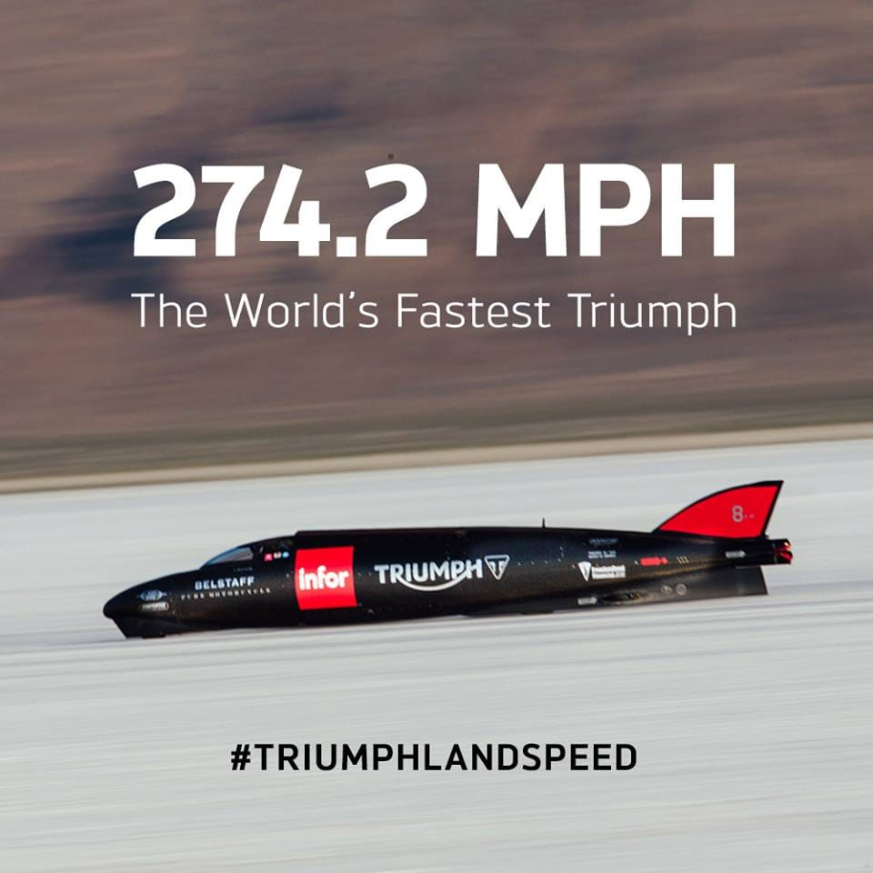 Triumph Land Speed Record