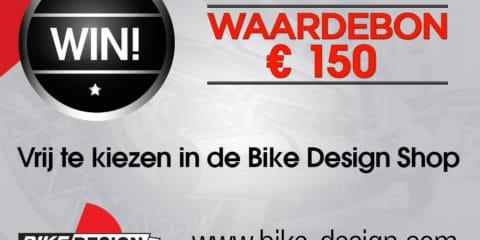 Win april 2017 Bike design voucher