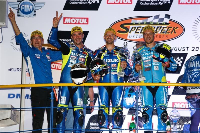 Reeds de 15de endurance wereldtitel voor het Suzuki Endurance Racing Team..