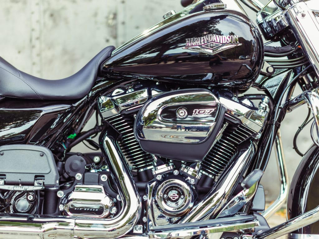 H-D's Milwaukee Eight in een notendop: Minder trillingen, meer power.