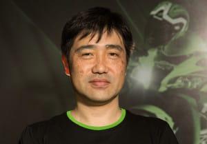 Matsuda-san, de geestelijke vader van de groene geweldenaar.