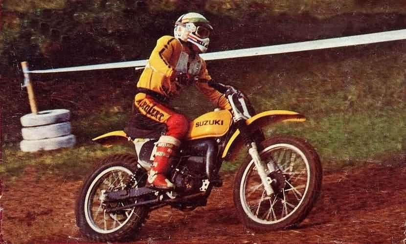 Zoals veel Dakarrijders, startte Rahier in het motorcross.