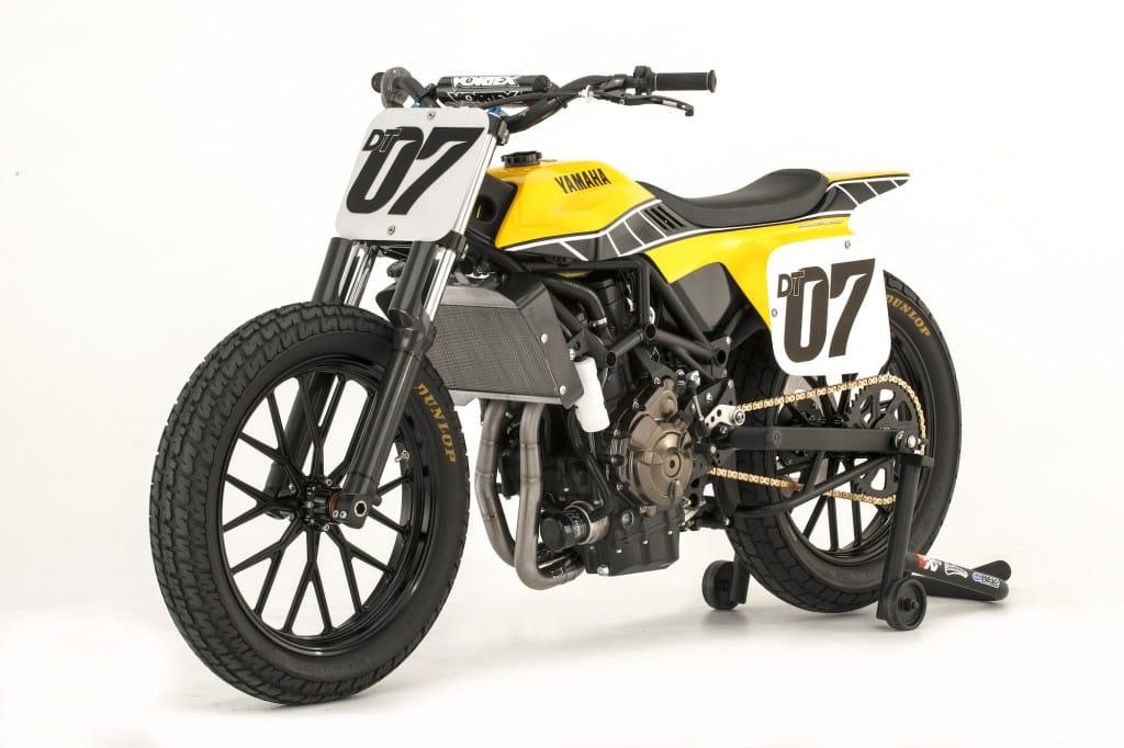 Yamaha's DT-07 Flat Track concept. Een voorbode van een toekomstig model?