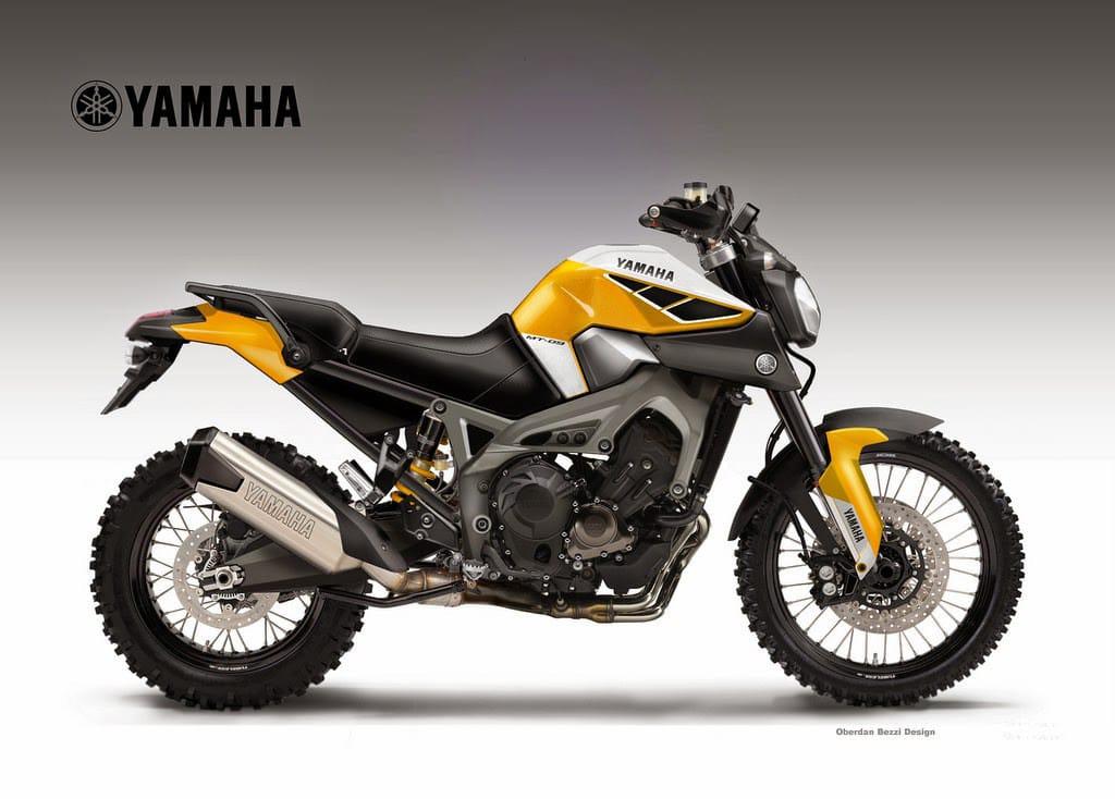 Designer Oberdan Bezzi heeft al meerdere mogelijke Yamaha Off Road concepten getekend...