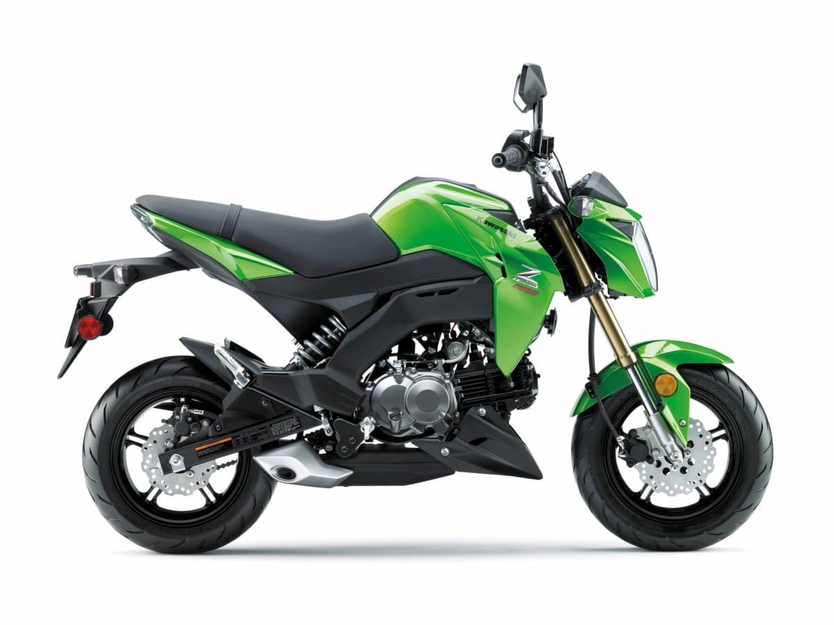 Kawasaki Z125 side