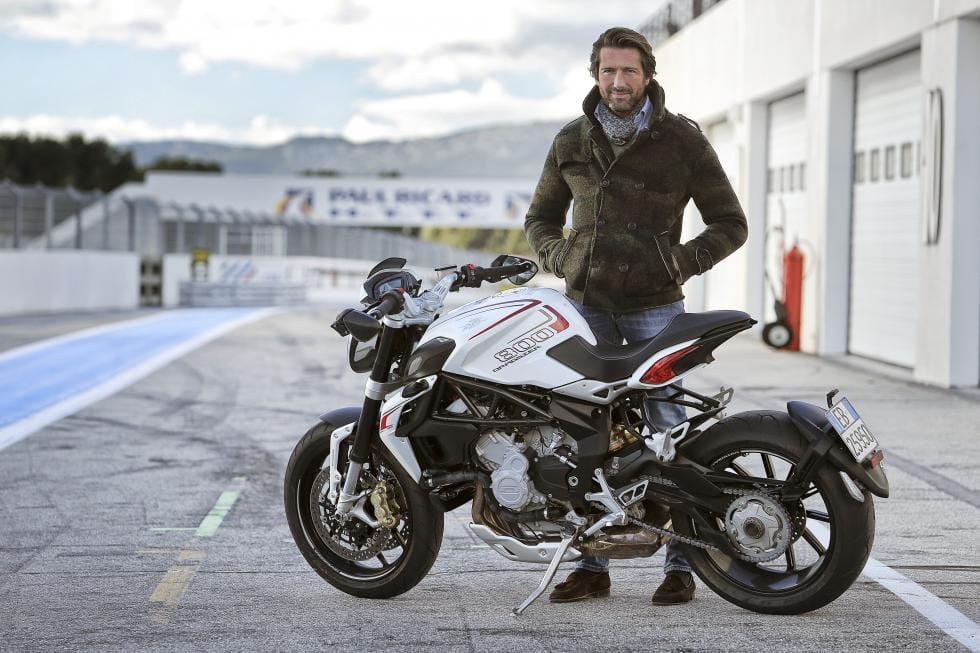 Giovanni Castiglioni, de zoon van Claudio Castiglioni die Ducati uit de as liet herrijzen.