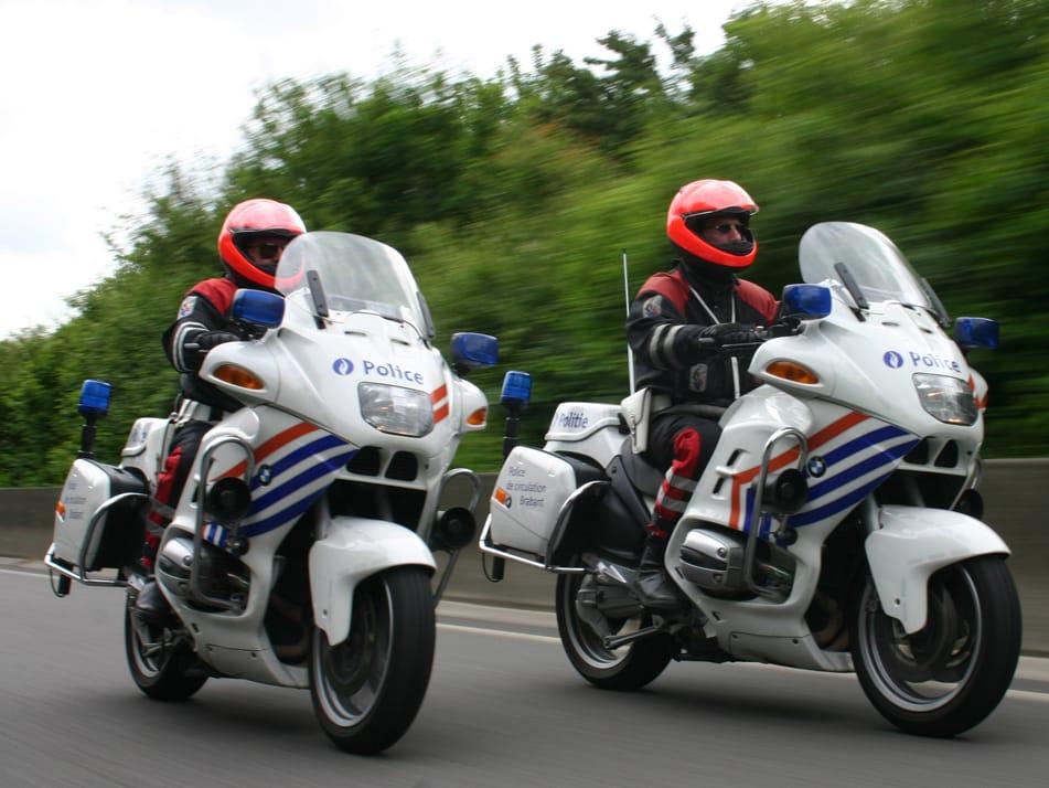 wegpolitie motorpolitie