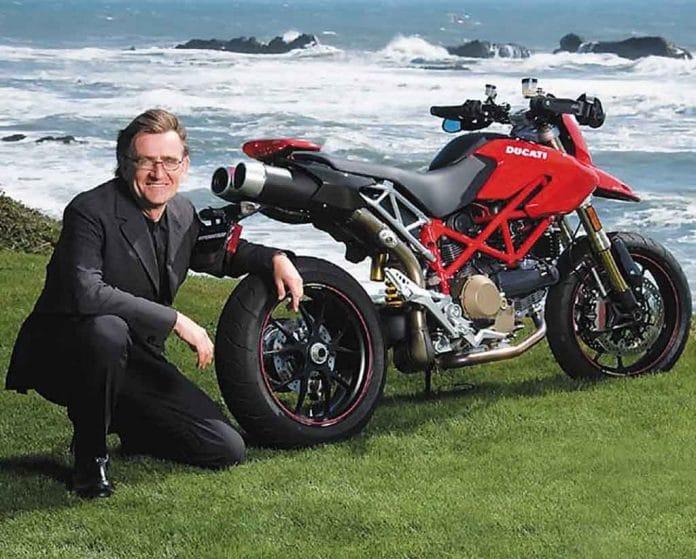 Terblanche ontwierp enkele populaire Ducati modellen, waaronder ook de originele Hypermotard.
