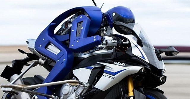 Yamaha's motobot is ook een voorbeeld van artificiële intelligentie.