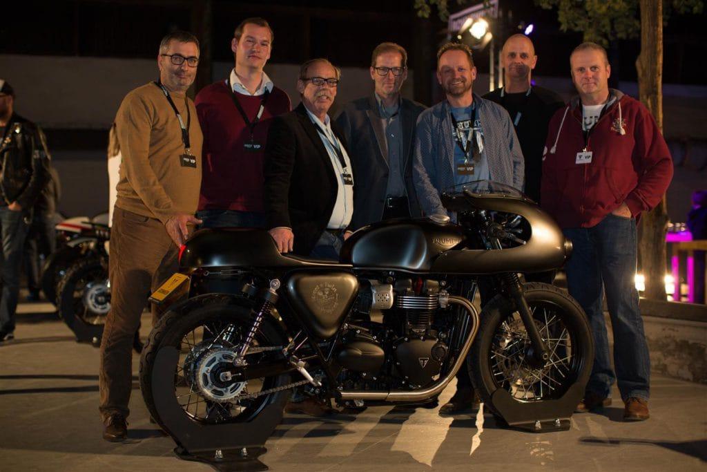 De heel originele Salt Lake Racer van Triumph Groningen haalde het hoogste schavot voor Nederland.